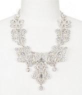 Natasha Accessories Crystal Drop Statement Necklace