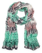 Sole Society Abstract Geo Scarf