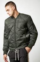 Members Only Oval Quilted Bomber Jacket