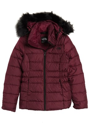 The North Face Gotham II Faux Fur Trim Jacket