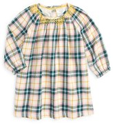 Toddler Girl's Mini Boden Smocked Winter Dress