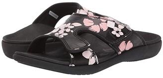 Spenco Kholo 2 Luau (Black) Women's Sandals