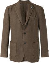 Lardini casual blazer - men - Hemp - 46