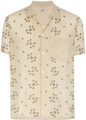 Bode Star Cross Stitch Shirt