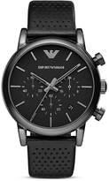 Emporio Armani Round 3-Chronograph Watch, 41mm