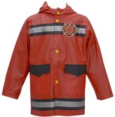 Wippette Baby Boys Fire Department Motif Hooded Raincoat 12M