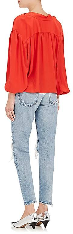 Moussy Women's May Distressed Crop Jeans
