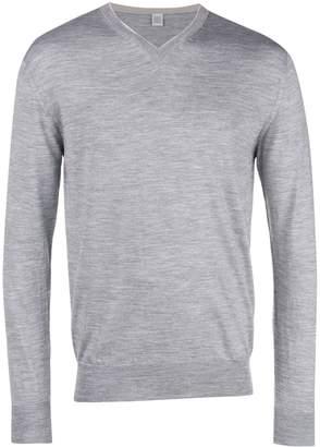 Eleventy v neck knit sweater