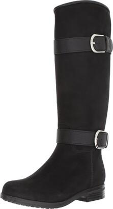 dav Women's Bristol Suede Rain Boot