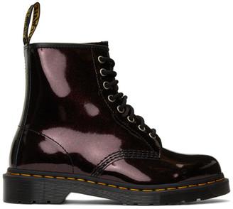 Dr. Martens Purple 1460 Sparkle Boots