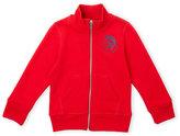 Diesel Boys 4-7) Now Is My Time Zip-Up Sweatshirt