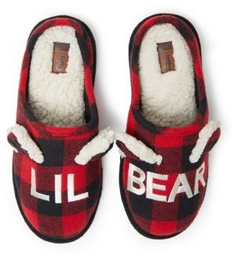 Dearfoams DF by Lil Bear Unisex Slippers