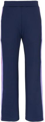 Mira Mikati Striped Popper Button Trousers
