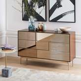 west elm Nouveau Mirror 6-Drawer Dresser