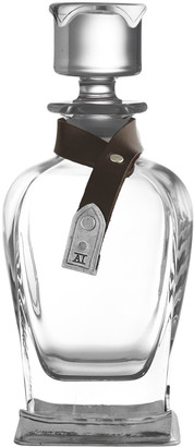 Arte Italica Grigio Glass Decanter