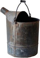 One Kings Lane Vintage French Zinc Bucket w/ Handle