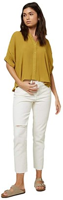 O'Neill Shelly Blouse (Willow) Women's Clothing