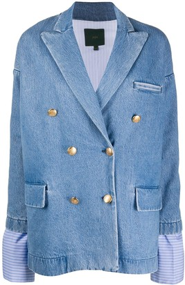Jejia Oversized Denim Blazer