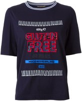 Muveil 'gluten free' print T-shirt - women - Cotton - 40