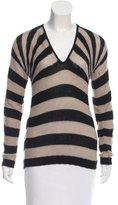 Dolce & Gabbana Striped Knit Sweater