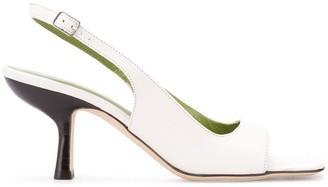 BY FAR Slingback Open-Toe Sandals