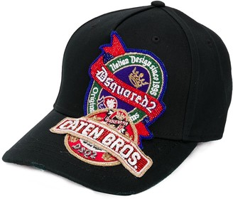 DSQUARED2 Beaded Patch Baseball Cap