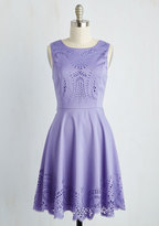 Invitation Designer Dress in Amethyst in L