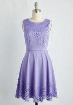 Invitation Designer Dress in Amethyst in M