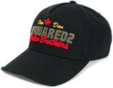 DSQUARED2 logo embroidered baseball cap