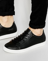 Selected Homme Dylan Leather Trainers