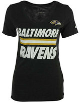 Nike Women's Baltimore Ravens Team Stripe T-Shirt