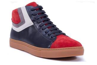 French Connection Grand Leather High Top Sneaker