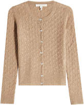 Marc Jacobs Cashmere Cardigan with Embellished Buttons