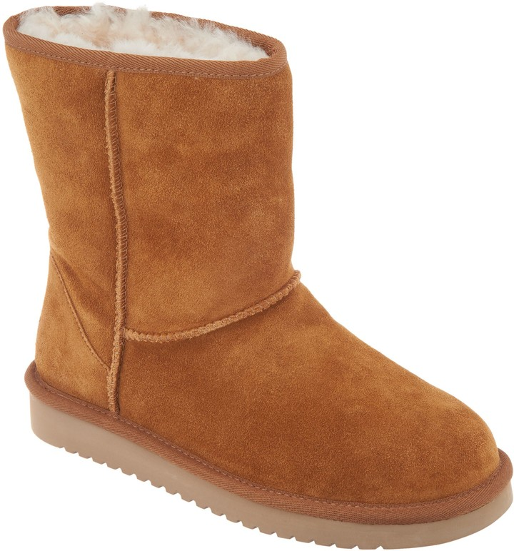 63707b4e46b By Ugg by UGG Suede Short Boots - Koola