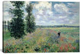 icanvasart Poppy Fields Near Argenteuil, 1875 By Claude Monet