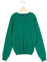 Oscar de la Renta Boys' Cashmere Rib Knit Sweater