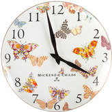 Mackenzie Childs Butterfly Garden Clock