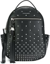 Alexander McQueen studded backpack - women - Leather/metal - One Size