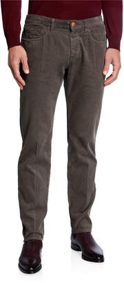 Giorgio Armani Men's 5-Pocket Corduroy Pants