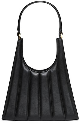 STAUD Rey Quilted Leather Shoulder Bag