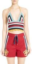 RED Valentino Women's Crochet Knit Tank