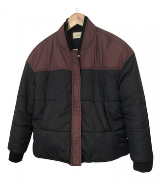 BA&SH Burgundy Polyester Coats