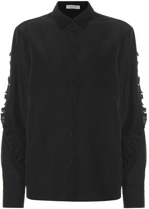 Bottega Veneta Ruffled silk shirt