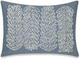 Barbara Barry Sea Leaves Boudoir Throw Pillow