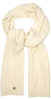 Moncler Cable-knit scarf