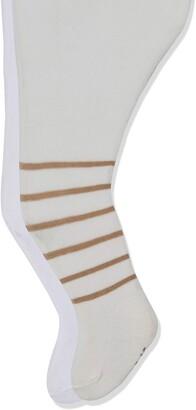 Playshoes Baby Girls' elastisch Bar und Unifarben mit Komfortbund Tights