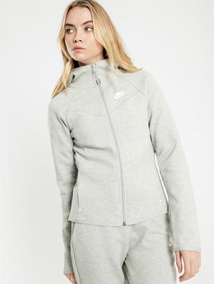 Nike NSW Tech Fleece Zip Hoodie in Grey