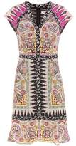 Etro Silk printed dress