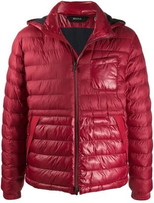 Ermenegildo Zegna Padded Zip-Up Jacket