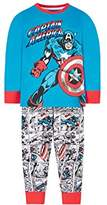 Mothercare Marvel Captain America Pyjamas,(Manufacturer Size:110)